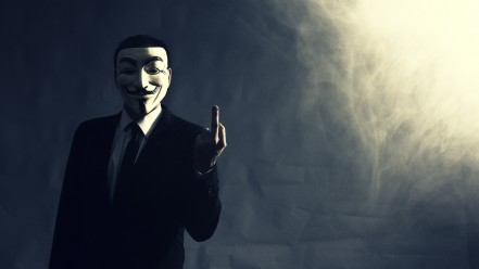 anonymous_Middle finger